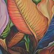 King Of The Leaves Art Print