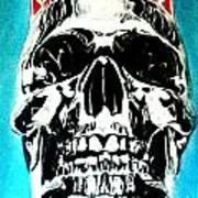 King Til Death Art Print