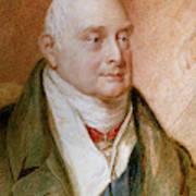 King William Iv Of England (1765-1837) Art Print