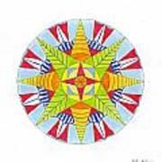 Kingdom Mandala Art Print