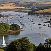 Kingsbridge Estuary Devon Art Print