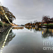 Kingsbridge Reflections  Art Print