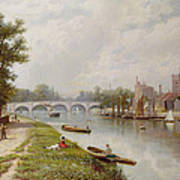 Kingston On Thames Art Print by Robert Finlay McIntyre