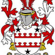 Kinnane Coat Of Arms Irish Art Print