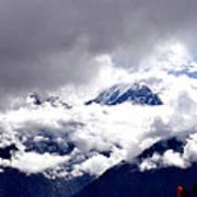 Kinner Kailash Hills- Himachal Pradesh- Viator's Agonism Art Print by Vijinder Singh