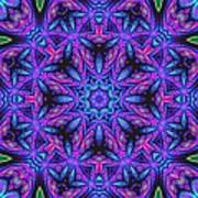 Kinnersley Vine Mandala Art Print