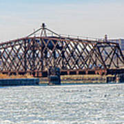 Kinnickinnic River Swing Bridge Art Print