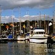 Kinsale Yacht Club Art Print