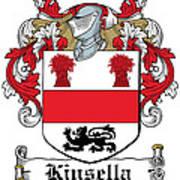 Kinsella Coat Of Arms Irish Art Print