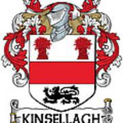 Kinsellagh Coat Of Arms II Irish Art Print