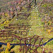 Kinzua Bridge Collapse Art Print