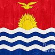 Kiribati Flag Art Print