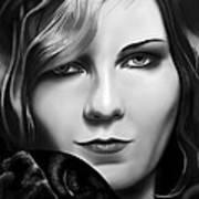 Kirsten Dunst Art Print