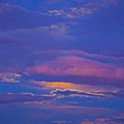 Kiss The Sky Art Print