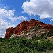 Kissing Camels - Garden Of The Gods Art Print