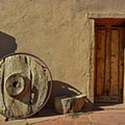 Kit Carson Home Taos New Mexico Art Print