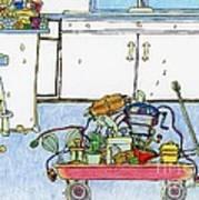 Kitchen Caddy Art Print