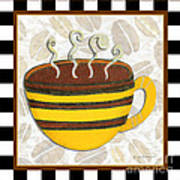 Kitchen Cuisine Hot Cuppa No14 By Romi And Megan Art Print