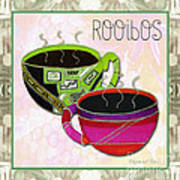 Kitchen Cuisine Rooibos Tea Party By Romi And Megan Art Print
