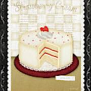 Kitchen Cuisine_dessert Art Print