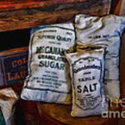 Kitchen - Food - Sugar And Salt Art Print