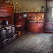Kitchen - Storybook Cottage Kitchen Art Print