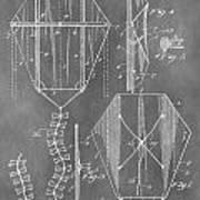 Kite Patent Art Print
