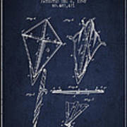 Kite Patent From 1892 Art Print by Aged Pixel