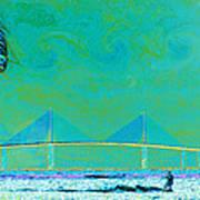 Kiteboarding The Bay Art Print