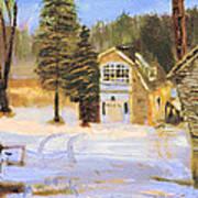 Kittattiny Park Ranger Residence Art Print