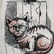 Kitty Sly Art Print