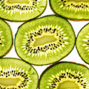 Kiwi Fruit IIi Art Print by Paul Ge