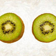 Kiwi Slices Print by Danny Smythe