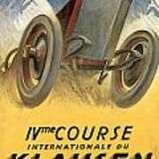 Klausen Automobile Art Print