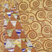 Klimt Expectation Art Print