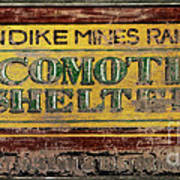 Klondike Mines Railway Art Print