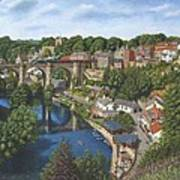 Knaresborough Yorkshire Art Print