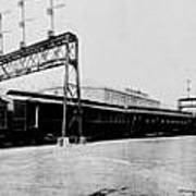 Knickerbocker Special Leaving St. Louis Union Station Art Print by Georgia Fowler