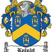Knight Coat Of Arms Dublin Art Print