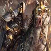 Knight Of Obligation Art Print