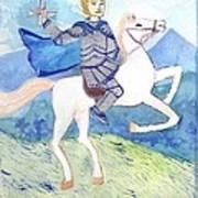 Knight Of Swords Art Print