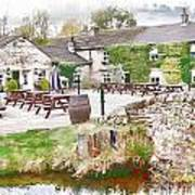 Knitsley Mill 5 Art Print