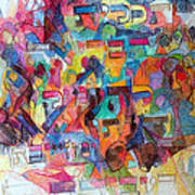 Know That This Is The Purpose Of The Creation To Deepen Knowledge And Thought On The Service Of G-d Art Print