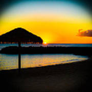 Ko' Olina Sunset Art Print