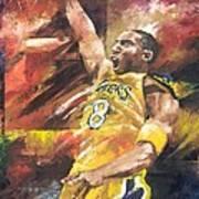 Kobe Bryant  Art Print by Christiaan Bekker