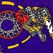 Kobe Bryant Art Print by Jeremiah Colley