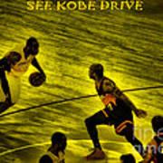 Kobe Lakers Art Print