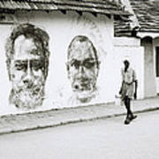 Kochi Urban Art Art Print