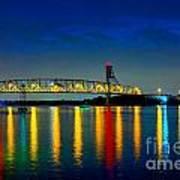 Kodachrome Bridge Art Print