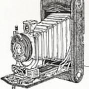 Kodak 3a Autographic Art Print